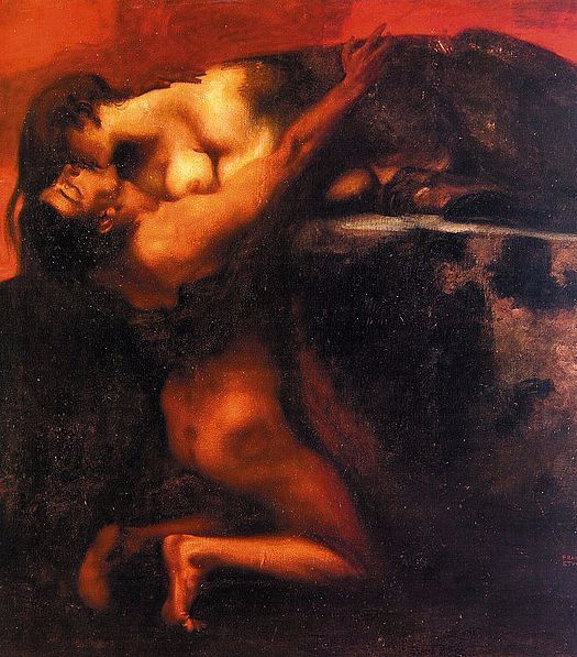 The Kiss of the Sphinx, Franz Stuck, 1895