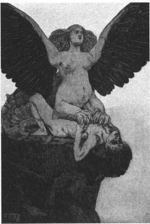 Sphinx, Valère Bernard, 1896