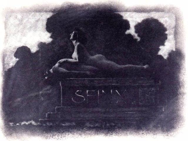 Sphinx (Cleopatra), Frantisek Drtikols, 1913
