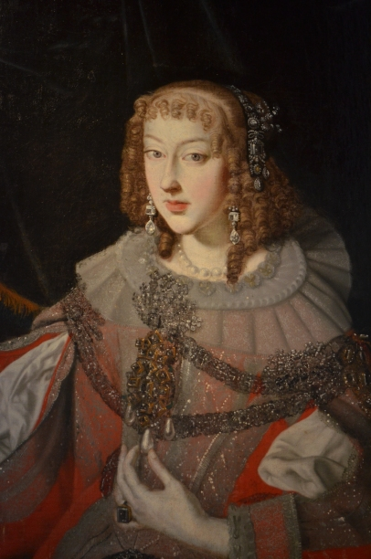 Maria Leopoldine of Austria painting