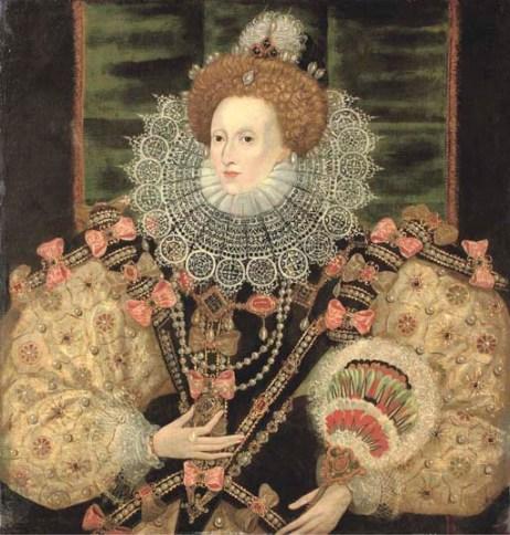 Painting of Elizabeth I