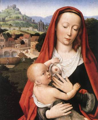 Gerard_David_-_Mary_and_Child_(detail)_-_WGA6037