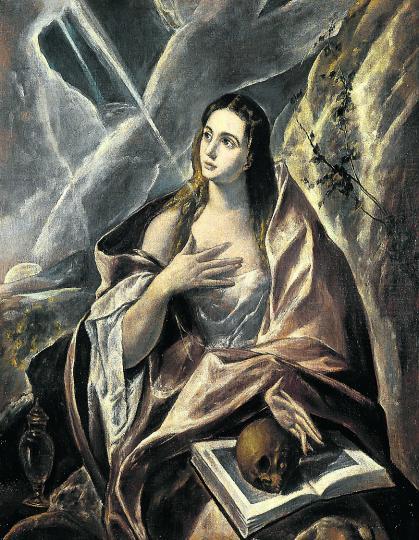 painting on La Magdalena