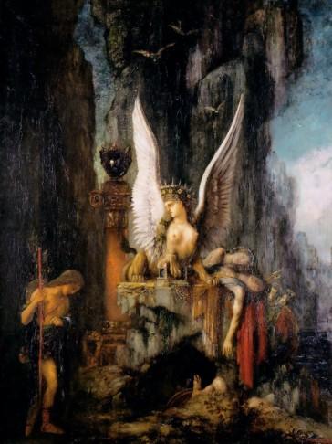 Oedipus the Wayfarer. Gustave Moreau, 1888