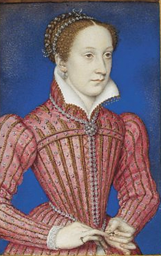 Miniature of Mary Queen of Scots