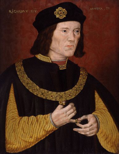 oil painting of Richard III