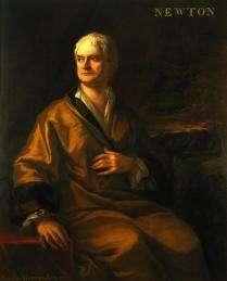 Sir Isaac Newton, Sir James Thornhill, 1710