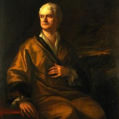 Sir Isaac Newton, Sir James Thornhill, 1710