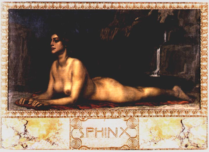 The Sphinx, Franz von Stuck, 1895