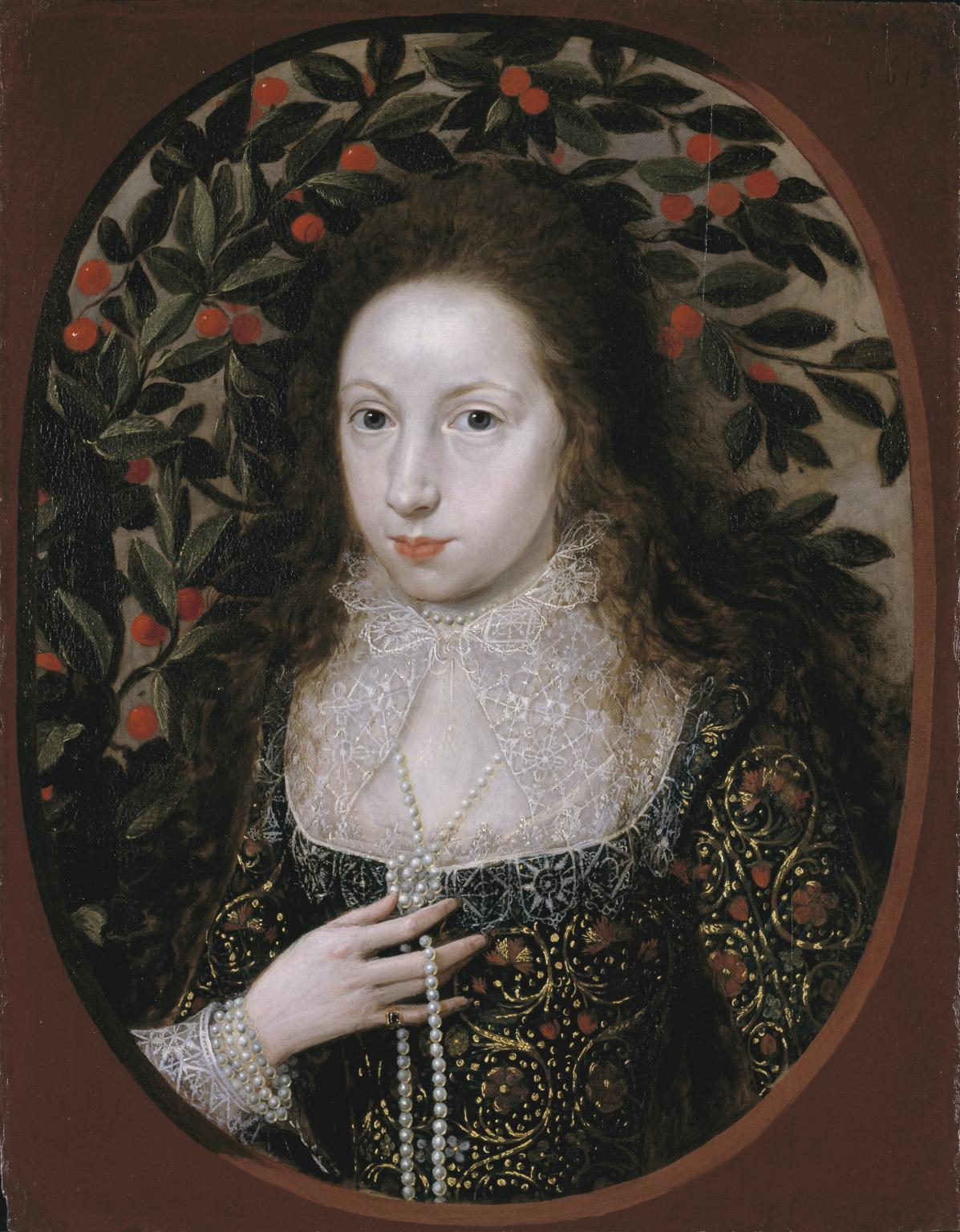 painting of Lady Anne Pope