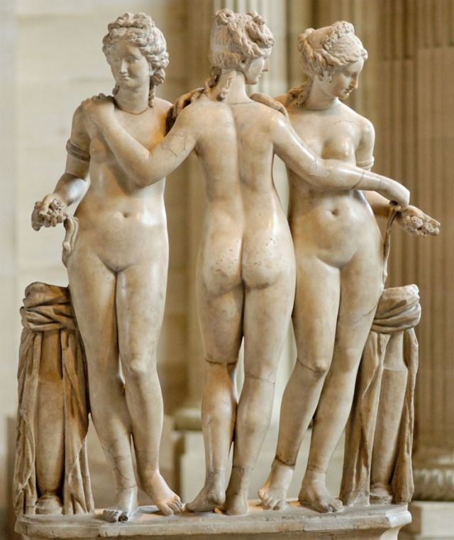 sculpture of the Graces