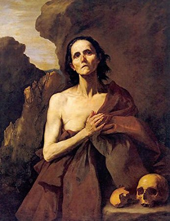 painting of St. Mary of Egypt