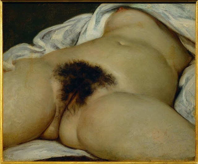 The Origin of the World, Gustave Courbet, 1866