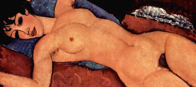 Nu couché, Amedio Modigliani, 1917 - 18