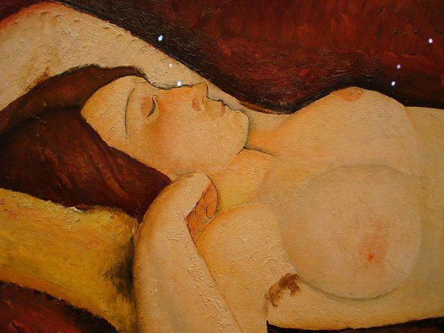 Reclining Nude, Amedeo Modigliani, 1919