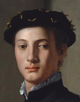 portrait of a man detail
