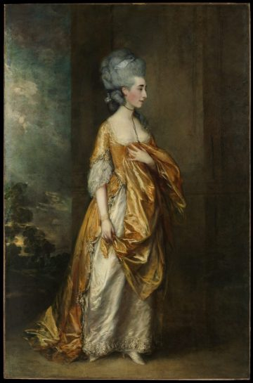Grace Dalrymple Elliott, Thomas Gainsborough, 1754?