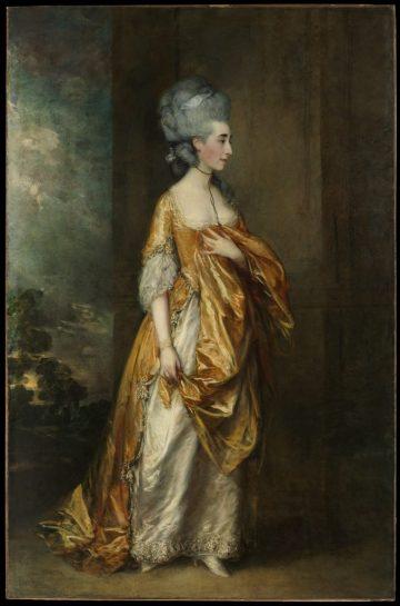 Grace Dalrymple Elliott, Thomas Gainsborough, 1754?