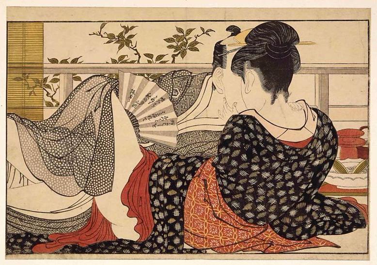 Shunga piece