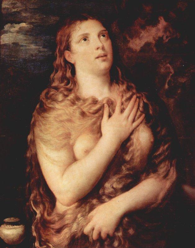 Mary Magdalen hair