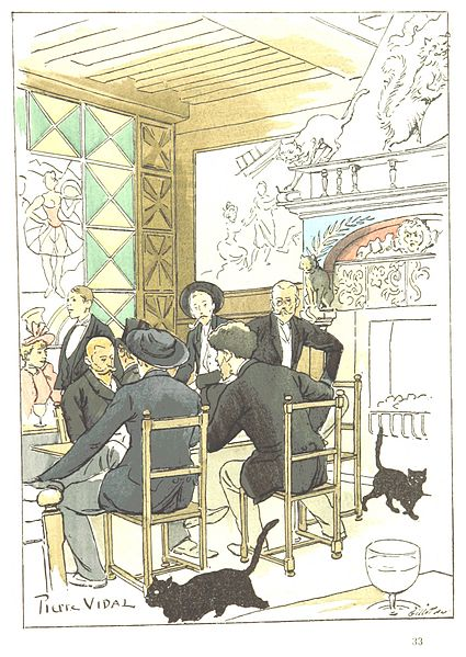 Au Chat Noir - Goudeau and Vidal