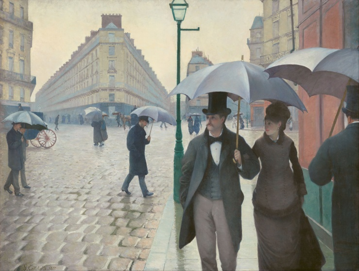 Paris Street; Rainy Day, Gustave Caillebotte, 1877