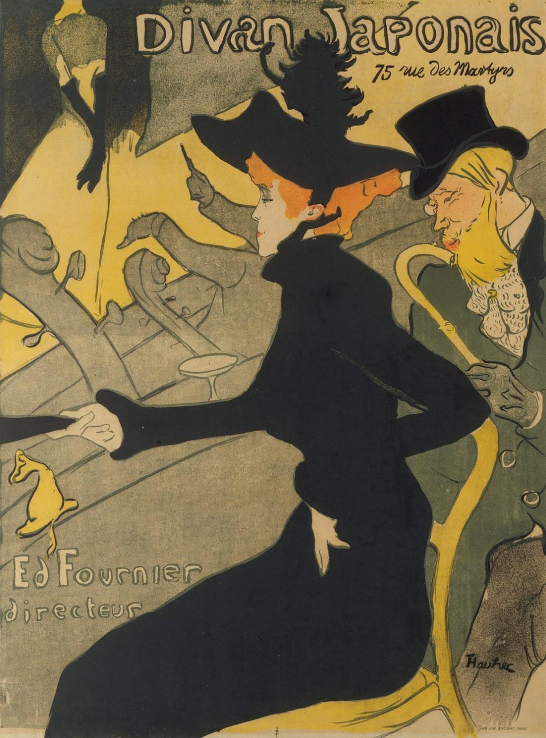 Divan Japonais, Toulouse-Lautrec, 1893