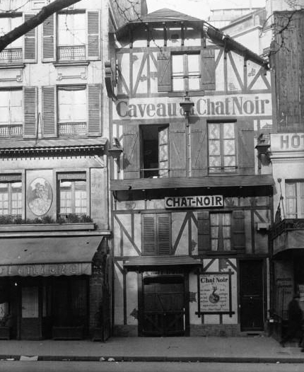 Later location of Le Chat Noir