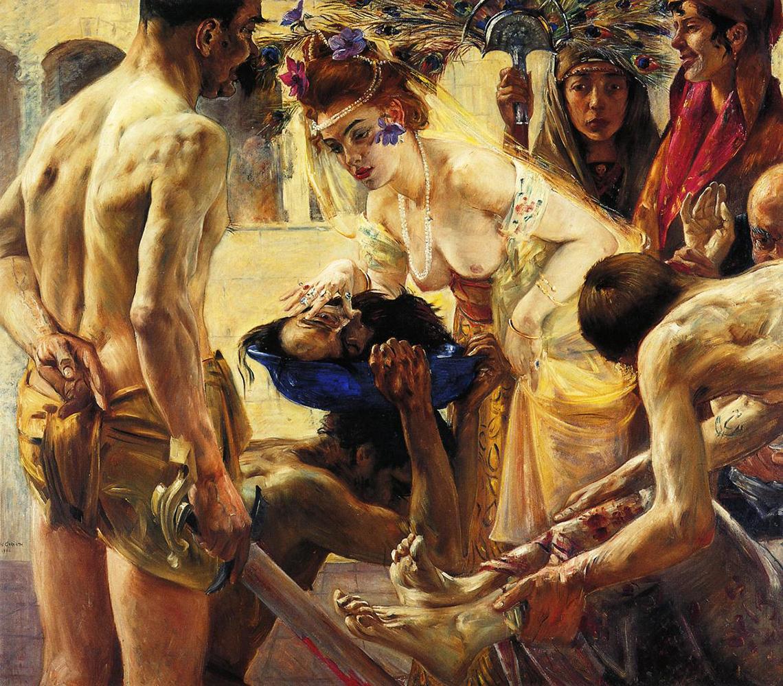Salome and the head of Saint John Baptist