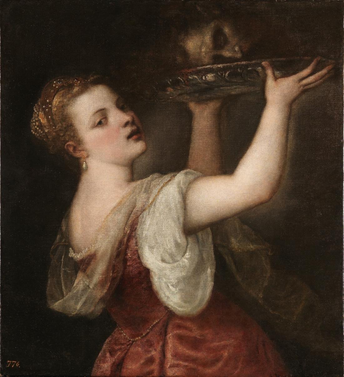 Salome, Titian, 1550