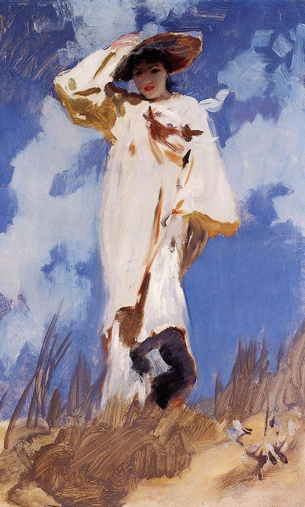 Gust of Winds, John Singer Sargent