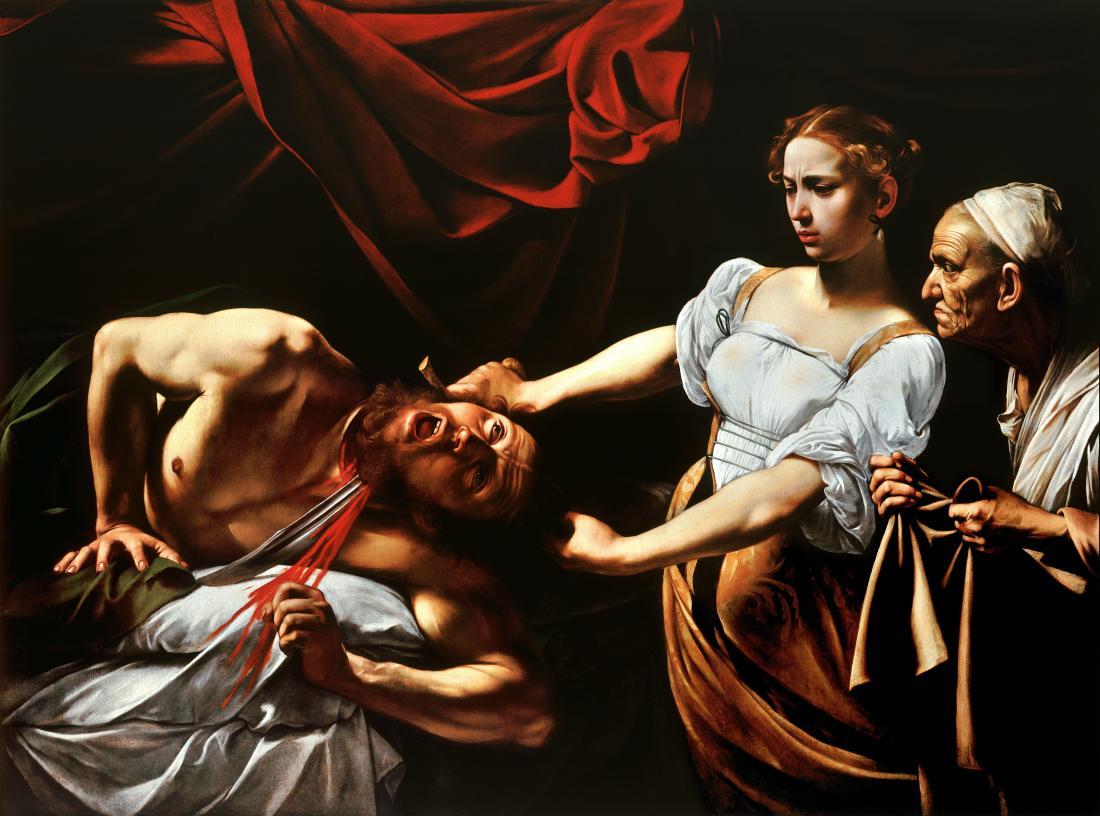 Judith Beheading Holofernes, Caravaggio