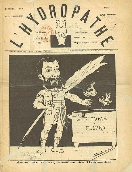L'Hydropathe journal. 1870
