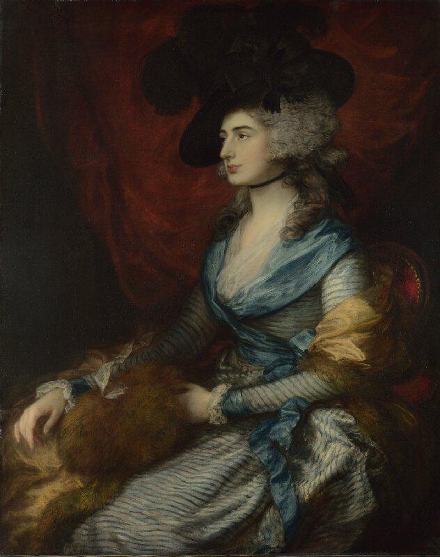 Sarah Siddons, Gainsborough