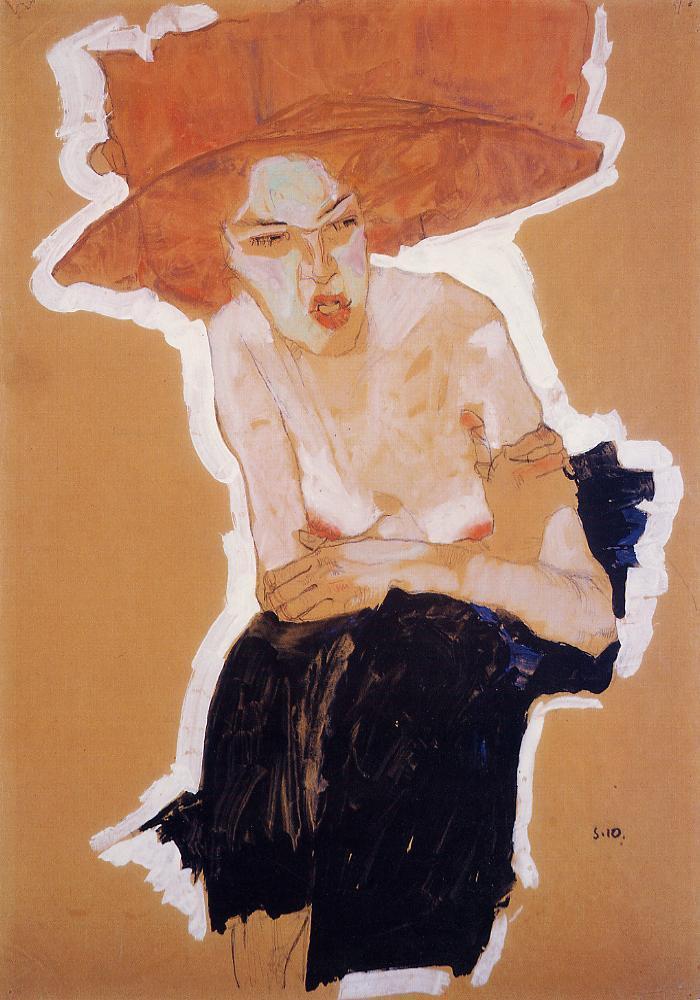 the-scornful-woman-1910_schiele