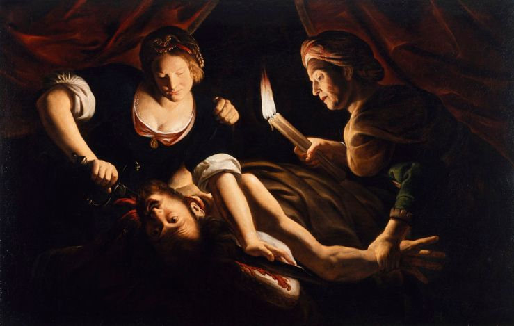 Judith Cutting Off the Head of Holofernes, Trophime Bigot, 1640