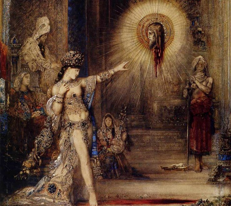 The Apparition, Gustave Moreau, 1876
