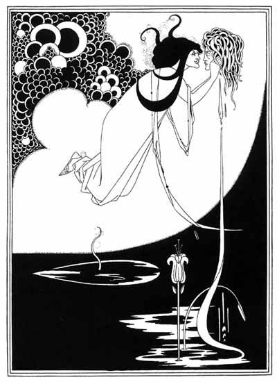Salome Illustration, Aubrey Beardsley, 1893