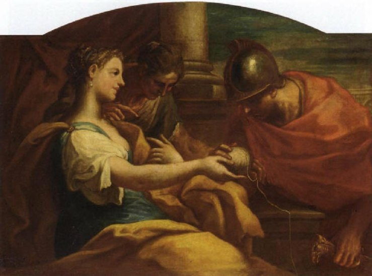 Ariadne and Theseus, Niccolo Bambini