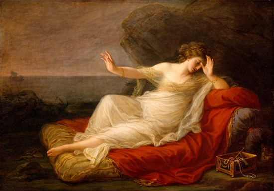 Ariadne Abandoned by Theseus, Angelica Kauffmann, 1774