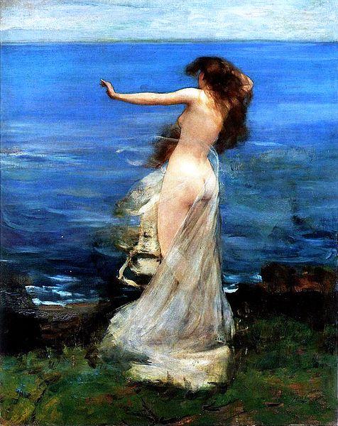 Ariadne, Sir John Lavery, 1886