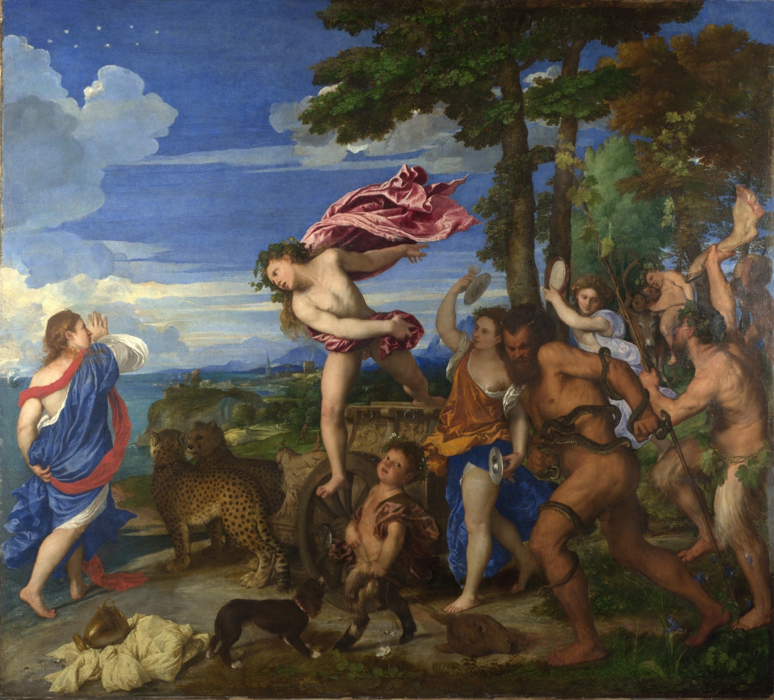 Bacchus and Ariadne, Titian, 1520–1523