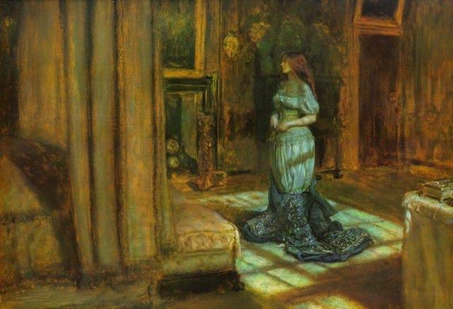 The Eve of Saint Agnes, John Everett Millais, 1863