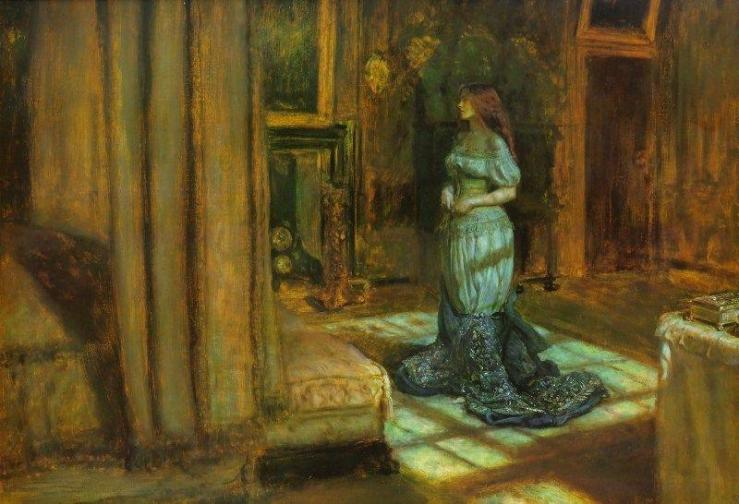 The Eve of Saint Agnes, John Everett Millais, 1863