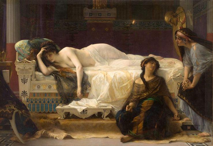 Phaedra, Alexandre Cabanel, 1880