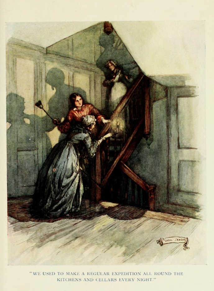 Cranford Illustration by Sybil Tawse
