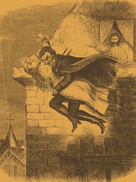 Spring-heel'd Jack's Daring Leap, 1860