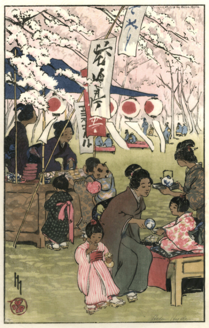 Blossom Time in Tokyo, 1914